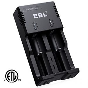 EBL Smart Battery Charger for 18650 AA AAA & C Size