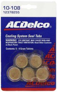 Genuine GM (12378255) Fluid 3634621 Cooling System Seal Tablet - 4 Grams, (Pack of 5)