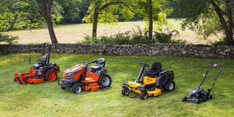 Top 4 Best Lawn Mowers for Steep Hills