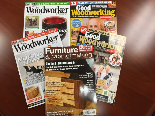 Top 4 Best Woodworking Magazines