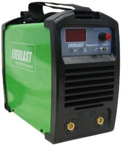 EVERLAST PowerARC 140 140amp Lift Start TIG / Stick IGBT Welder Dual Voltage