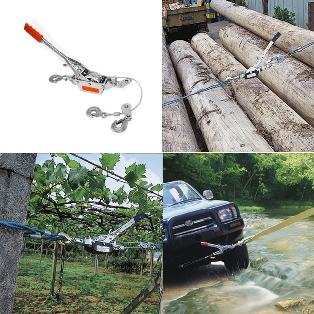 Top 4 The Best Come Along Winches – Hand Cable Pullers
