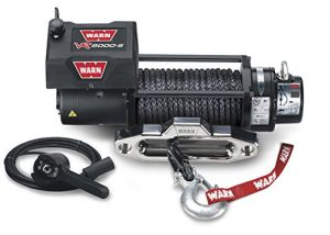 Warn 87835 VR8000-s Winch with Synthetic Rope