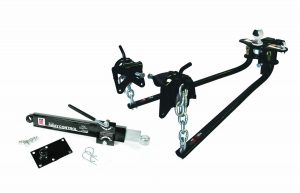 "Camco Eaz-Lift Elite Weight Distributing Hitch Kit, Includes Distribution Hitch, Sway Control and 2-5/16"" Hitch Ball - 1,000 lbs Tongue Weight Capacity (48058)"