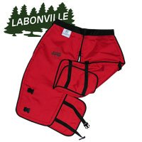 Labonville Full-Wrap Chainsaw Safety Chaps - Green X-Long