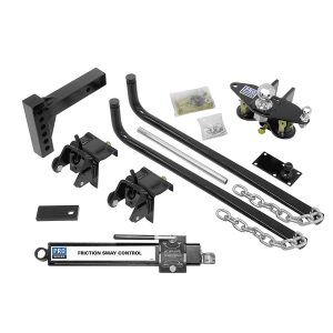 Reese 49902 Complete Round Bar Weight Distribution Kit - 750 lbs. TW