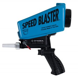 SpeedBlaster Gravity Feed Media Blaster - Blue